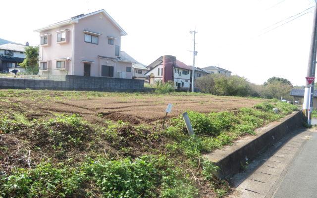 【売地】西区戸坂町・区画整理済角地!