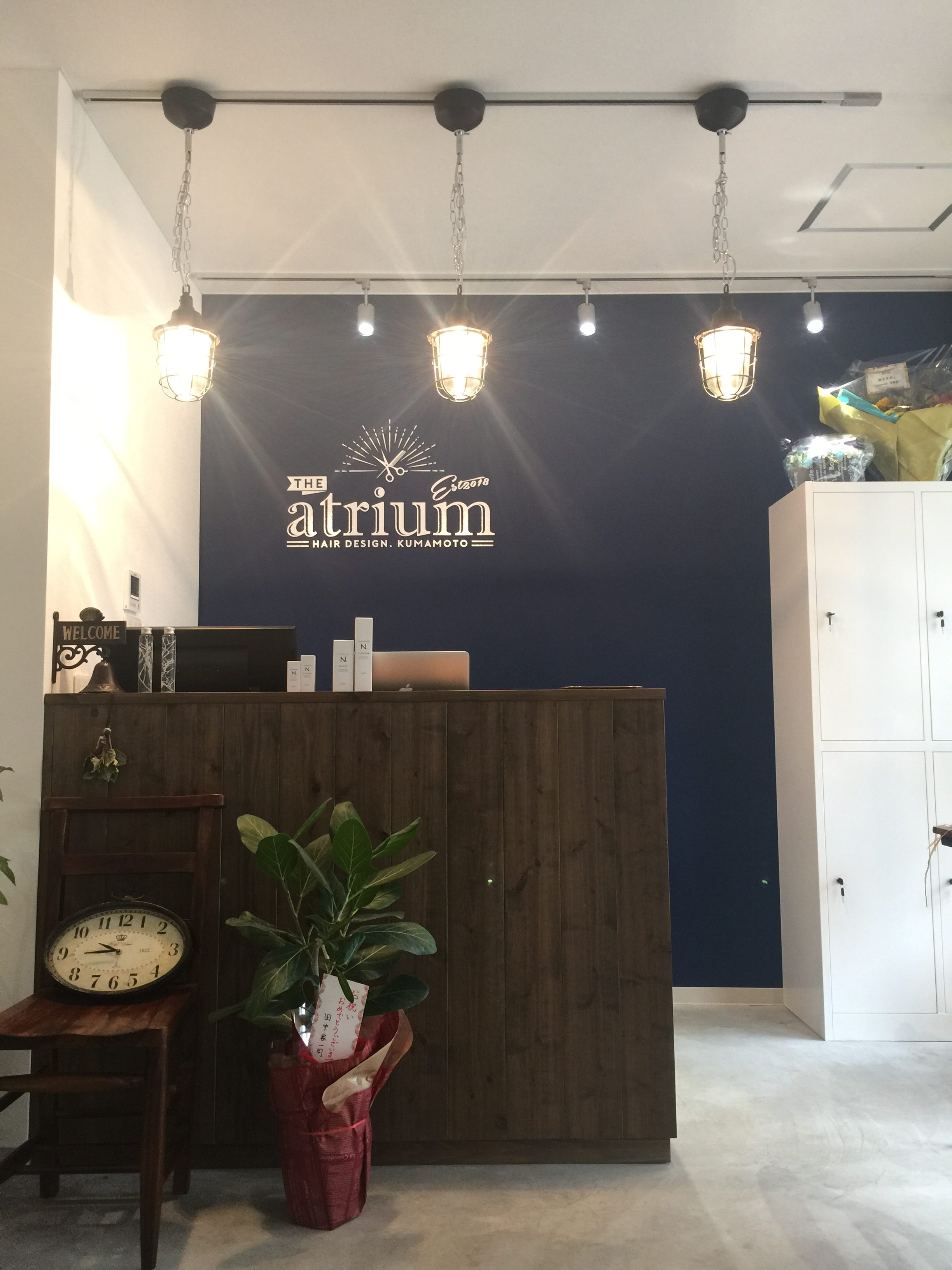 【NEW OPEN】ヘアサロン「the atrium hair design」